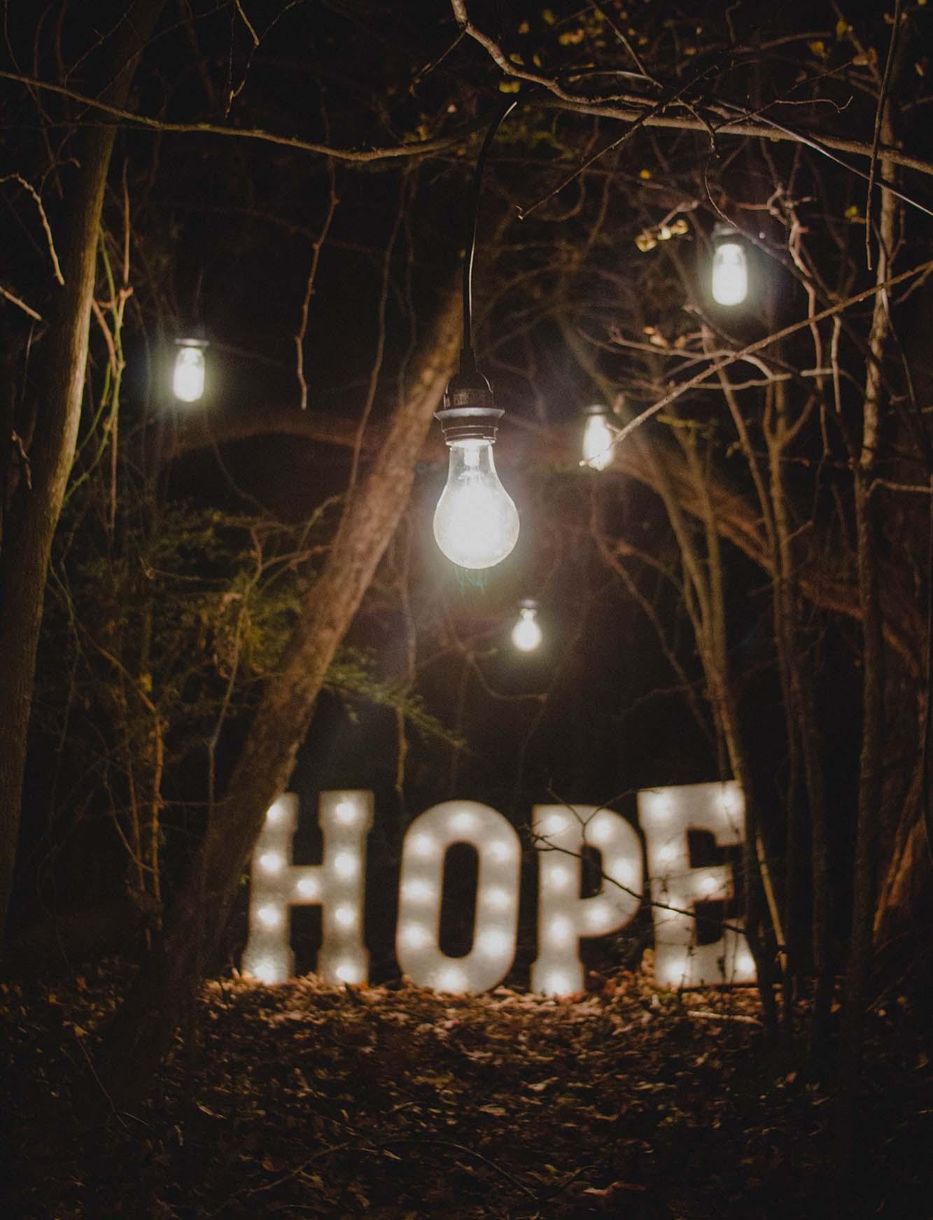 Addiction Help Hope Sign